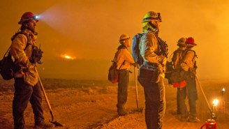 The Thomas Fire, California's Largest Wildfire In History, Will Keep Burning Into The New Year