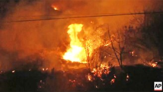 A Fast-Moving, Explosive Southern California Wildfire Has Forced Thousands To Flee Their Homes