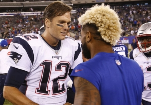 Odell Beckham Jr. Compared His Sideline Behavior To Tom Brady's In An Instagram Video