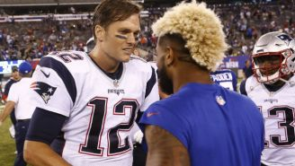 Odell Beckham Jr. Compared His Sideline Behavior To Tom Brady's In An Instagram Video