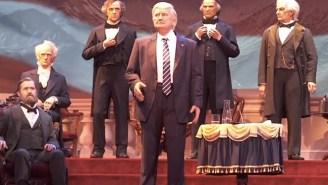 Disney World's Animatronic Donald Trump 'Hall Of Presidents' Figure Is Terrifying The Internet