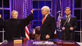 'SNL' Gives Trump A 'Christmas Carol' With Michael Flynn And Ghosts From His Past, Present and Future