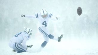 Adam Vinatieri Might Lose $500,000 For Missing Kicks In A Blizzard Against Buffalo