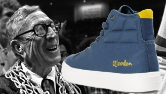 Fabled's Debut Shoe Pays Homage To UCLA Coaching Legend John Wooden
