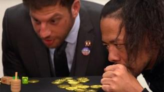 Drew Gulak Taught WWE Superstars How To Play Dreidel For Hanukkah
