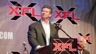 Vince McMahon's Entertainment Company Has Filed For The Trademark To 'XFL'
