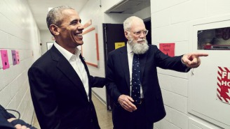 Barack Obama Will Be David Letterman's First Guest On His Netflix Talk Show