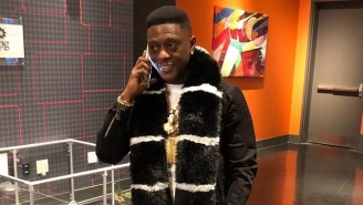 Boosie Badazz Curses Out Everybody While He's Stuck In A New Orleans Winter Storm