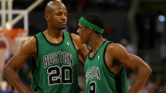 Rajon Rondo Says Ray Allen Is Invited To The 2008 Celtics' Reunion Vacation This Summer