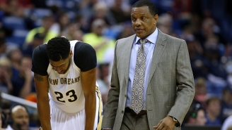 Alvin Gentry Says He'll Trade Anthony Davis To Boston On Two Conditions