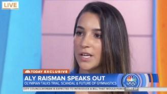 Aly Raisman Speaks Out Following Larry Nassar's Sentencing: 'He Deserves To Suffer'