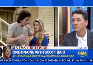 Scott Baio Continues To Deny Nicole Eggert's Accusation That He Molested Her As A Minor