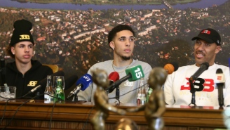 LiAngelo And LaMelo Ball's Coach In Lithuania Claims The Family Tried 'Destroying The Club'