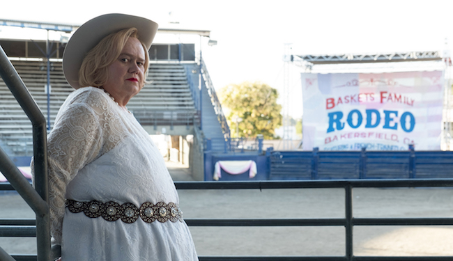 What's On Tonight: 'Baskets' Is Back, And So Is 'Drunk History' And 'Another Period'