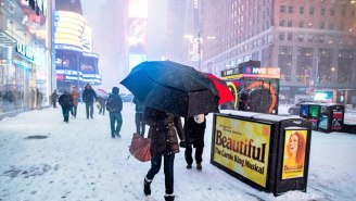 New York's Governor Has Declared A State Of Emergency After Winter Storm Grayson Shuts Down JFK Airport