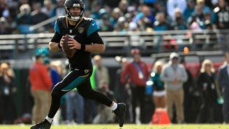 Blake Bortles Ran For More Yards Than He Passed For In The Jags' Playoff Win