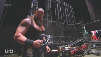 Braun Strowman Tried To Kill Kane And Brock Lesnar With A Grappling Hook