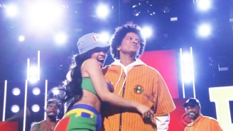 Cardi B Stole The Spotlight In Bruno Mars' Grammy Performance Of 'Finesse'