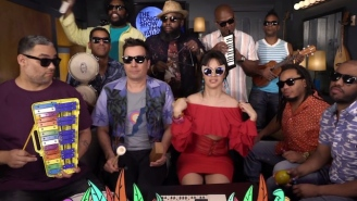 Watch Camila Cabello Perform A Fun Classroom Version Of 'Havana' With Jimmy Fallon And The Roots