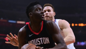 Clint Capela's Involvement In The Clippers-Rockets Locker Room Incident Was Hilarious