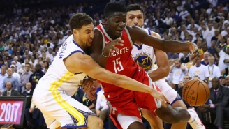 Clint Capela Believes The Rockets Are A Better Team Than The Warriors