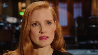 Jessica Chastain Can't Remember Which 'SNL' Cast Member She's Feuding With In The Latest Promo