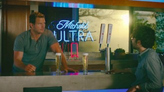 Chris Pratt Is Ready For His Moment In Michelob Ultra's Super Bowl Ads