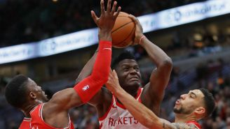 The Rockets-Clippers Scuffle Took Another Twist As Clint Capela Was Allegedly Mistaken For A Teammate