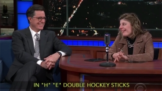 Stephen Colbert Gives A Young Autistic Woman A Second Chance At Being A Late Night Host On 'The Late Show'