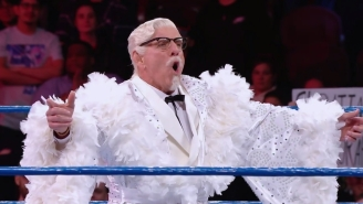 Ric Flair Is A Champion Again After Winning A Royal Rumble To Play Colonel Sanders