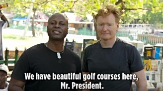 Conan O'Brien Gives Haitians The Chance To Insult Trump In This 'Conan In Haiti' Preview