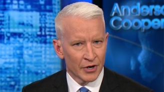 Anderson Cooper Fights Back Tears After Trump's 'Sh*thole' Comments Inspire Him To Reflect On Time He Spent In Haiti