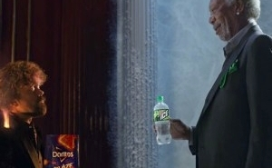 A New Superbowl Ad Features Morgan Freeman And Peter Dinklage In A Fierce Rap Battle