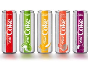Diet Coke Is Going After LaCroix With New Flavors And A New Can