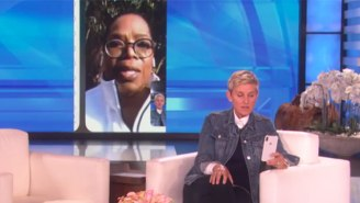 Oprah Facetimes With An Emotional Ellen From Their Neighborhood That Was Devastated By California Mudslides