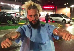 Enzo Amore Checked Himself Out Of The Emergency Room And Tried To Defend His Title On WWE Raw