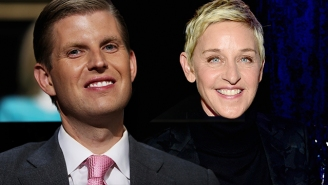 Ellen DeGeneres Gleefully Responds To Eric Trump's Bonkers Claim That She Is A Part Of The 'Deep State'