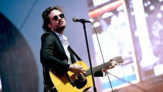 Father John Misty Says 'F*ck Society' And 'FlatEarth.com' While Belatedly Accepting His Grammy