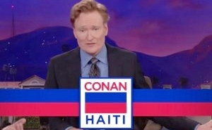 It Sounds Like Conan O'Brien Will Visit The 'Lovely People' Of Haiti Just To Spite Donald Trump