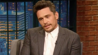 James Franco Continues To Address The Sexual Misconduct Allegations Against Him On 'Late Night'