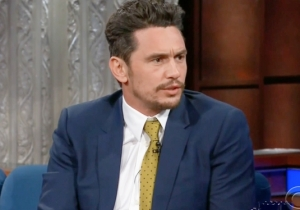 James Franco Faced Some Tough Questions About Sexual Misconduct On 'The Late Show'