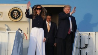 Melania Trump's Military Flights While Living In NYC Reportedly Cost Over $675,000