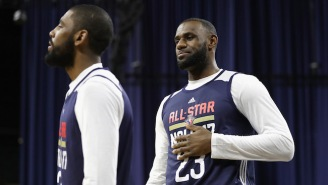 Kyrie Irving Says It'll Be 'Fun' Playing With LeBron James In The All-Star Game