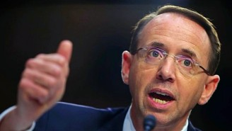 Donald Trump Apparently Wants To 'Fire' Or 'Get Rid Of' Deputy AG Rod Rosenstein