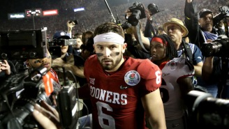 A Georgia Player Told Baker Mayfield To 'Humble Yourself' After The Bulldogs Won The Rose Bowl