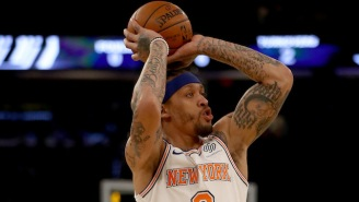 A Michael Beasley Jumper Spun Around The Rim Six Times Before It Decided To Go In