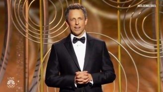 Seth Meyers' Golden Globes Monologue Acknowledged All The Elephants In And Out Of The Room