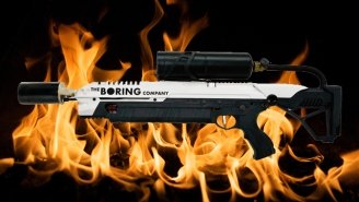 Elon Musk's Limited Edition Flamethrower Is Selling Out At $500 A Pop