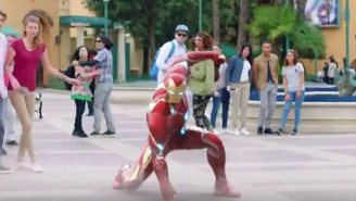 A Recruitment Video For Disneyland Paris Seems To Have Revealed Iron Man's 'Infinity War' Armor