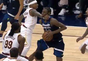 Isaiah Thomas Got Ejected After Karate Chopping Andrew Wiggins' Chin